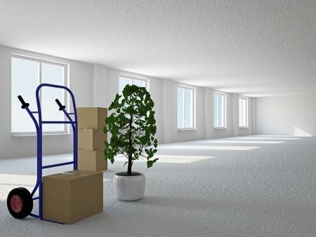 Stěhování do nové kanceláře