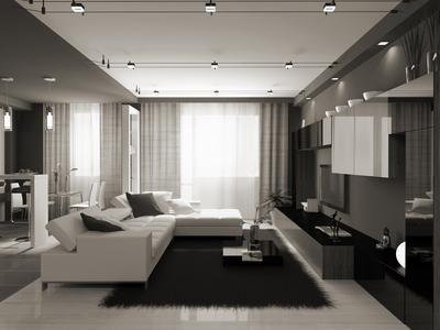 Interiér nového bytu